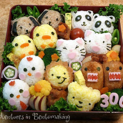 bento personnages