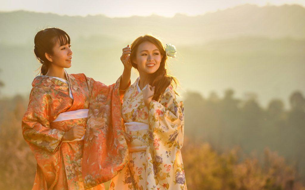 kimono japonaises