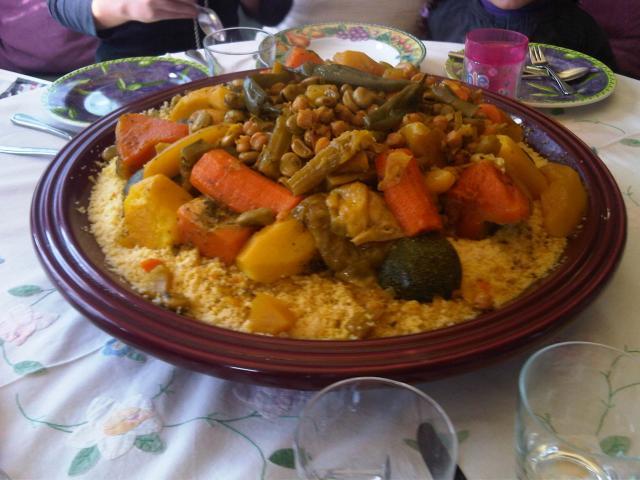 La recette du couscous Kabyle